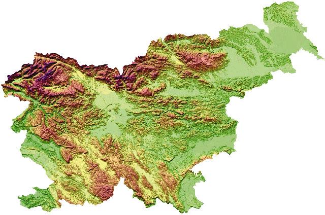 Zemljevidi Republike Slovenije Hervardi