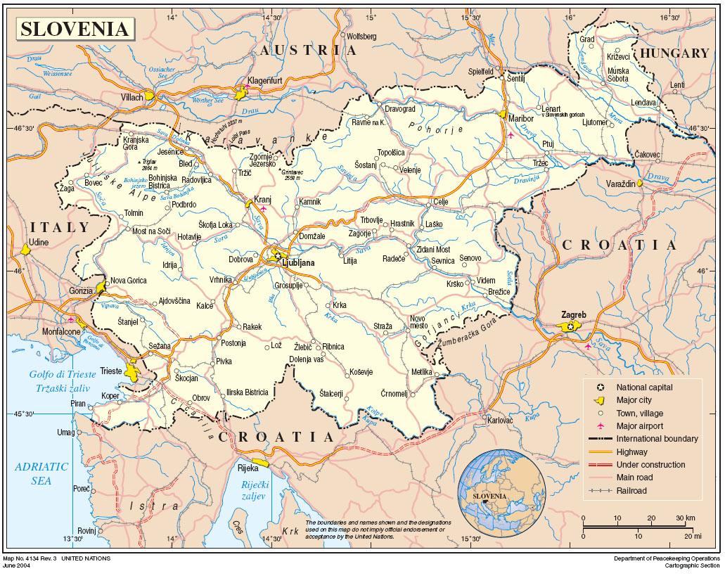 slovenija mapa Index of /zemljevidi slovenija mapa